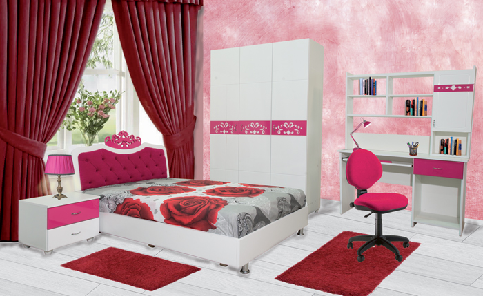 chambres enfants chambre princesse. Black Bedroom Furniture Sets. Home Design Ideas