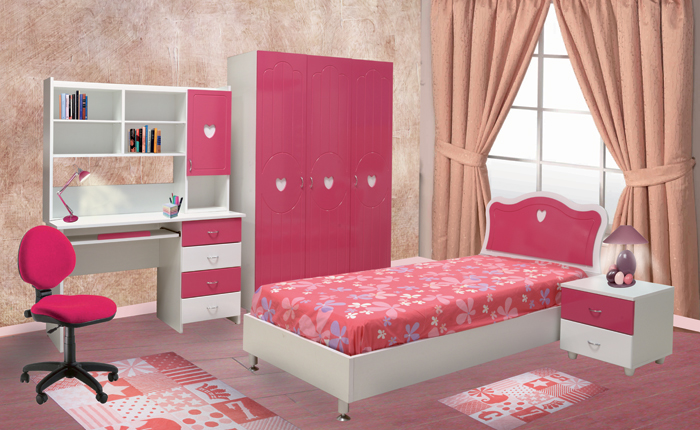 chambres enfants chambre lara. Black Bedroom Furniture Sets. Home Design Ideas