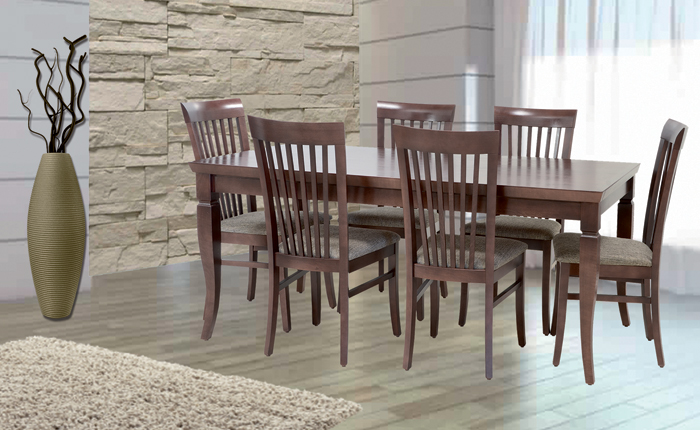 table ahlem 6 chaises marina